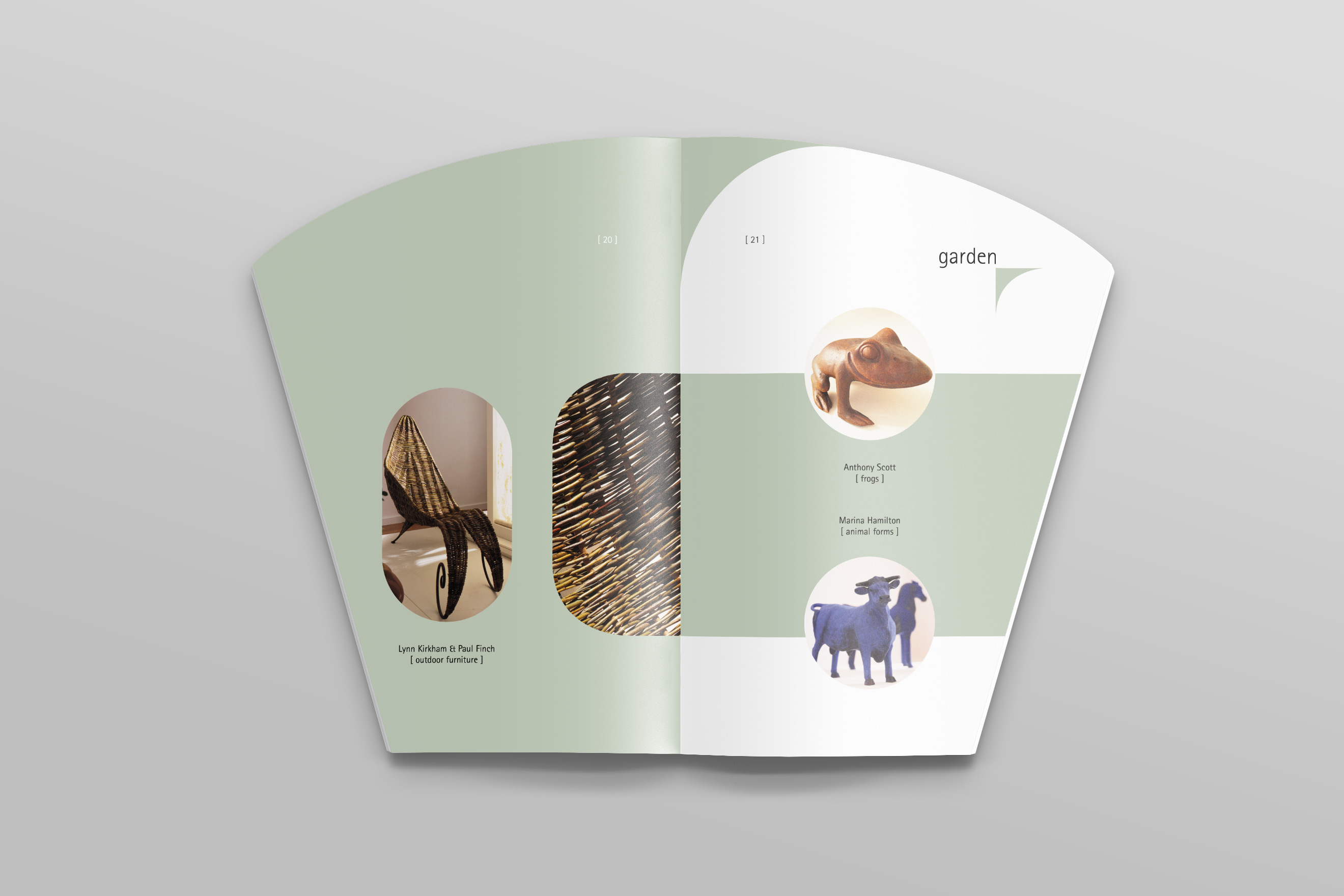 National Craft Gallery Exhibition Catalogue inner pages